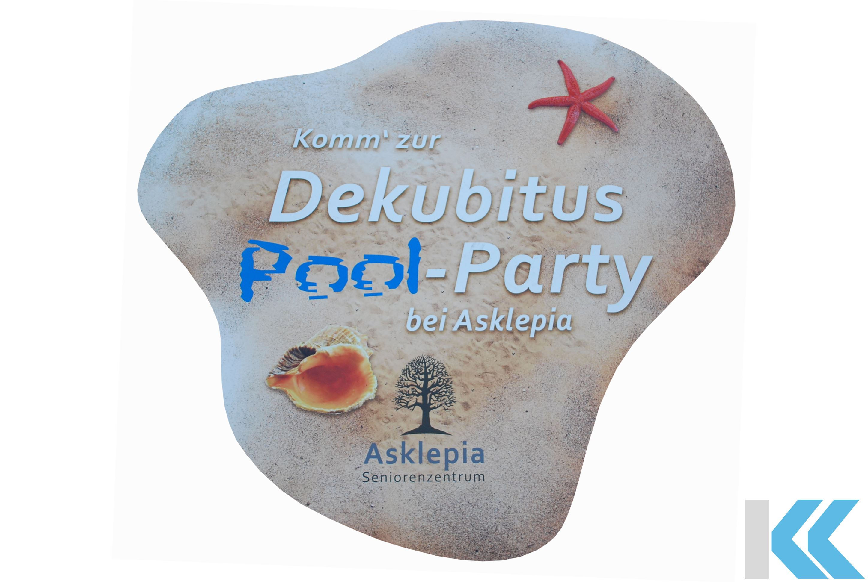 Dekubitus Pool Party Asklepia